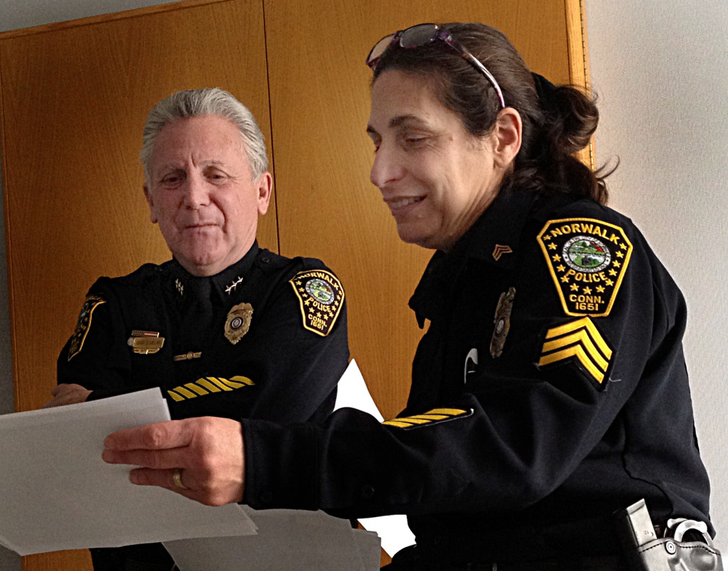 Lisa Cotto Harry Rilling Norwalk Police
