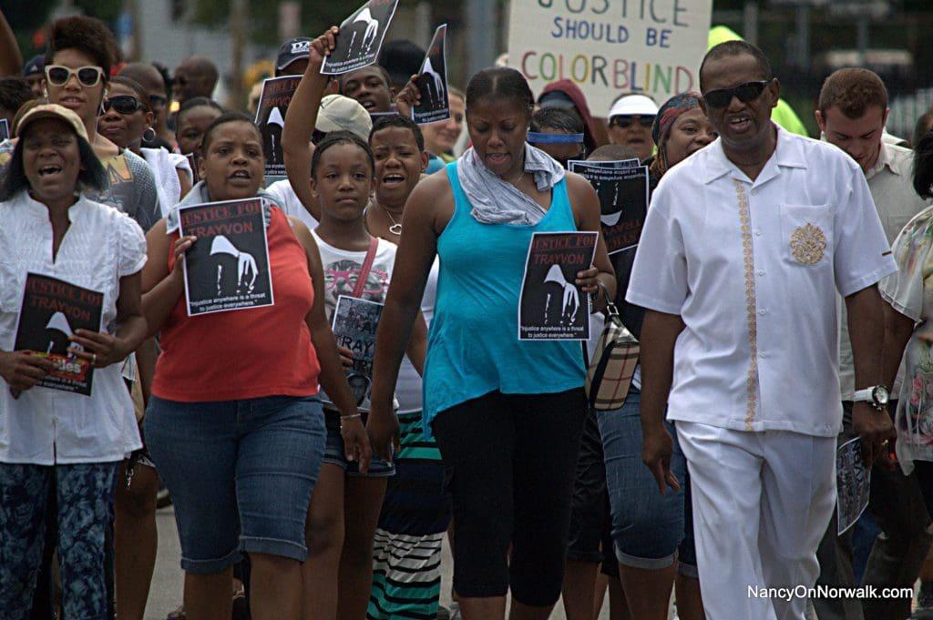 Norwalk Trayvon Martin march 072113 015
