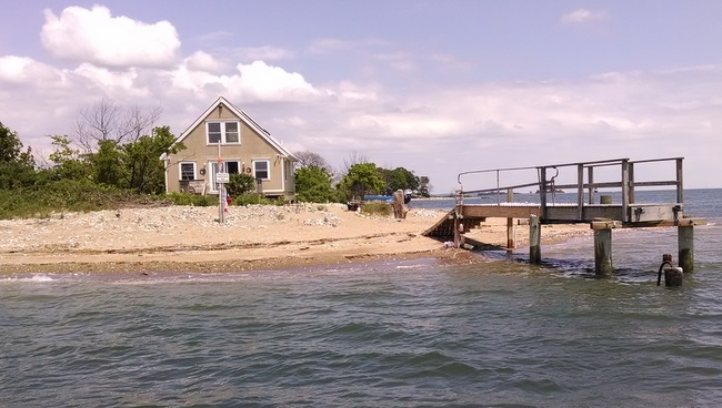 This property belonging to Jacob J Kozar Jr. & Debra Jane Kozar & Betts Island Oyster Farm LLC II had a minimum bid of $61,650 and sold for $150,000.