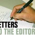 Letters must be signed with your real name and include a contact phone number that will not be published.