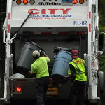 Trash and recycling collection will be on holiday schedule the week of Sept. 1.