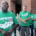 AFSCME Local 1042 President Stanley Shular