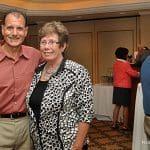 John Federici and Republican Registrar Karen Doyle Lyons call for unity.