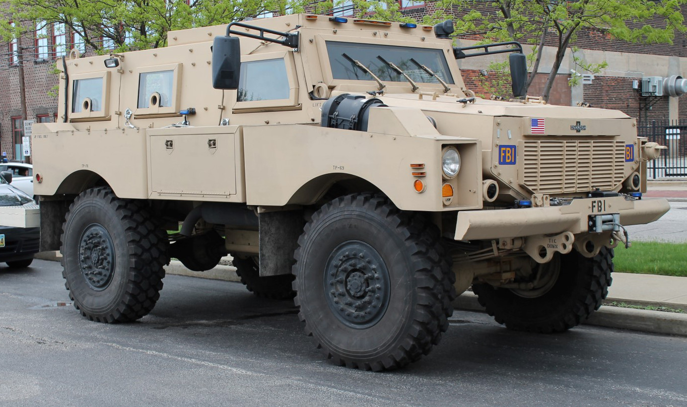 Used Police Armored Car