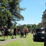 A classic and antique car show will accompany the Lockwood-Mathews Mansion Museum's 7th annual Old Fashioned Flea Market on Sept. 21.