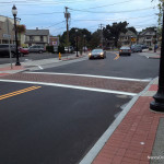 The improvements to Cedar Street have been completed.