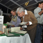 The silent auction was popular at Thursday night's NancyOnNorwlk fundraiser at the Norwalk Inn & Conference Center.