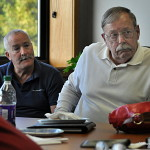 Department of Public Works Director Hal Alvord listens