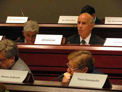 Former State Sen. William Nickerson is named co-chairman of the tax panel (Christine Stuart photo)