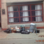 This photo was provided by Norwak Ordinance Enforcement Officer Ed Schwartz, who said it shows garbage out on Commerce Street well ahead of the time  it is allowed by city code to be out.