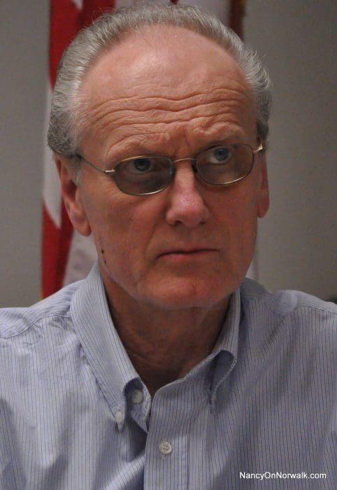 Norwalk Planning Commission Chairman Torgny Astrom