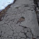 Norwalk sidewalk