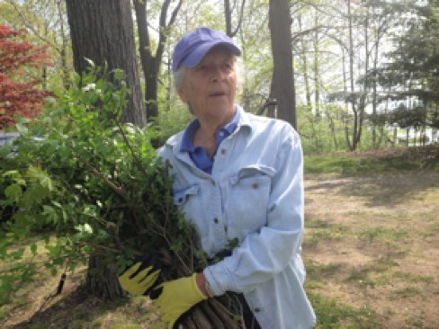 Marny Smith whose life-long commitment to the ecology is to be recognized by the Norwalk Land Trust Jan. 26.