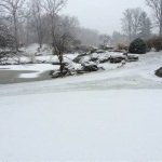 A quiet day at Oak Hills Golf Course Saturday, Jan. 3.