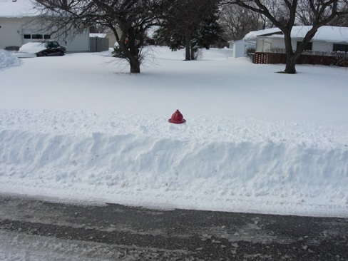It's time to worry about fire hydrants. (File photo)