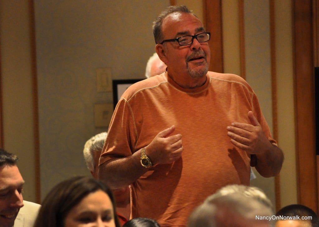 District D Chairman John Romano extols the virtues of his part of Norwalk.