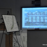 Attorney William Hennessey pitches Bruce Beinfield's plan for 2 Nearwater Road to the Zoning Commission in September.