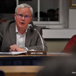 Norwalk Board of Education Chairman Mike Lyons argues the case for the Norwalk Public Schools' proposed 2016-17 operating budget, Tuesday in City Hall.