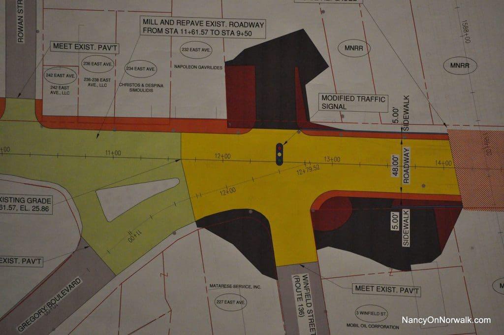 Public Works 16-0121 East Avenue Norwalk Council ConnDOT 042