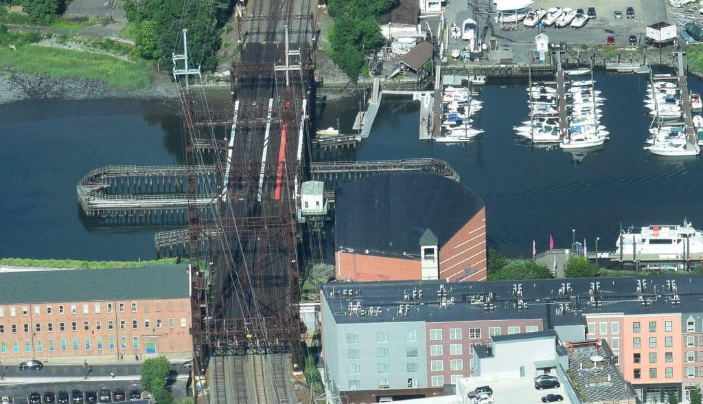 Conndot Considering Rail Spur Where Maritime Aquarium Sits