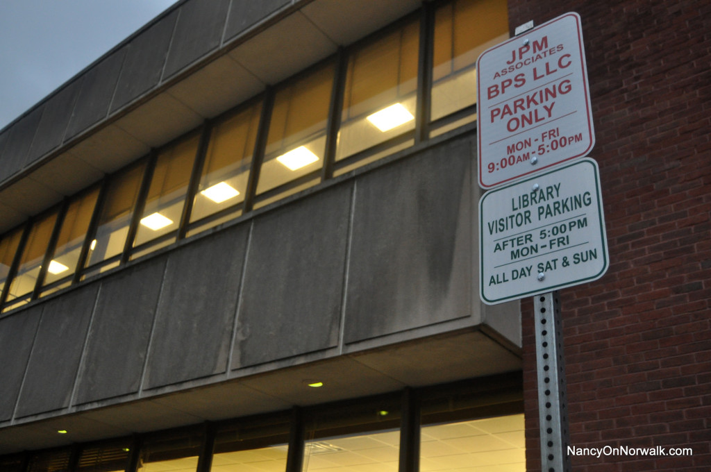 The Norwalk Public Library requested $25,000 in this year's capital budget, and $2.6 million in the 2017-18 capital budget, to address its lack of parking.