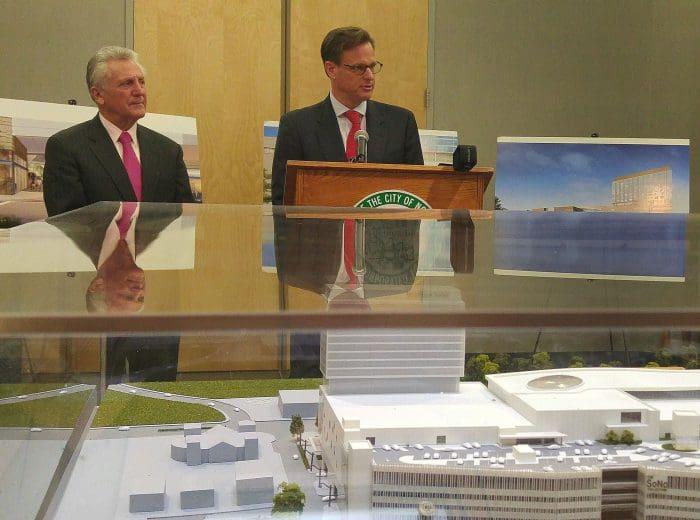 Norwalk Mayor Harry Rilling and