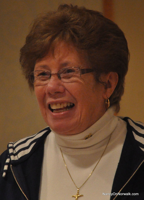 Norwalk Republican Registrar Karen Doyle Lyons is likely to be all smiles come Election Day.