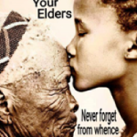 This sums up the love I have for those old folk who poured love into us, holding us up as others tried to beat them down. Life wasn't no crystal stair for them. Mine was the first generation to directly benefit from their struggle for human and civil rights. I love and appreciate them so! (Sherelle Harris)