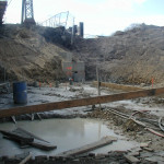 The 95/7 site in 2009, according to a NancyOnNorwalk reader. (Contributed photo.)