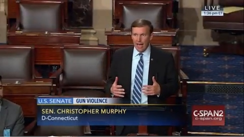 Murphy ends filibuster, says GOP agrees to vote on gun control