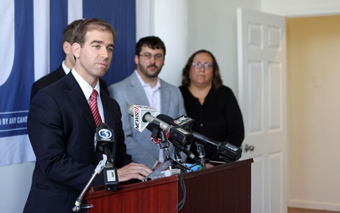 Hartford Mayor Luke Bronin   (Christine Stuart photo)