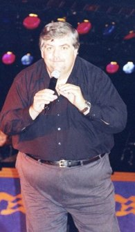 Singing in 2000 on the Golden Princess cruise ship.