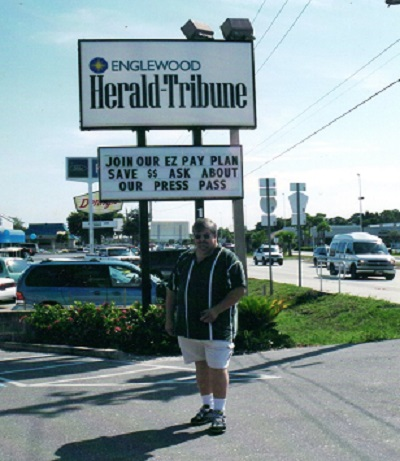 Freshly arrived in Englewood, Fla., 2002.