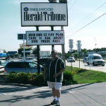 Embarking for an ill-fated stint with the Sarasota Herald-Tribune.