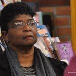 Former Board of Education member Rosa Murray attends a school event last week at Ponus Ridge Middle School.
