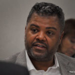 Norwalk Board of Education member Yvel Crevecoeur