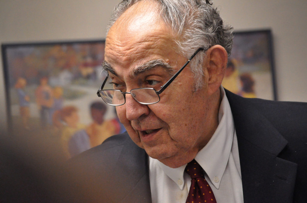 First Taxing District Board of Directors Chairman Frank Zullo, former mayor