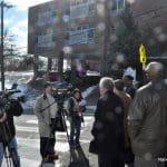 A Monday press conference next to Jefferson Elementary School.