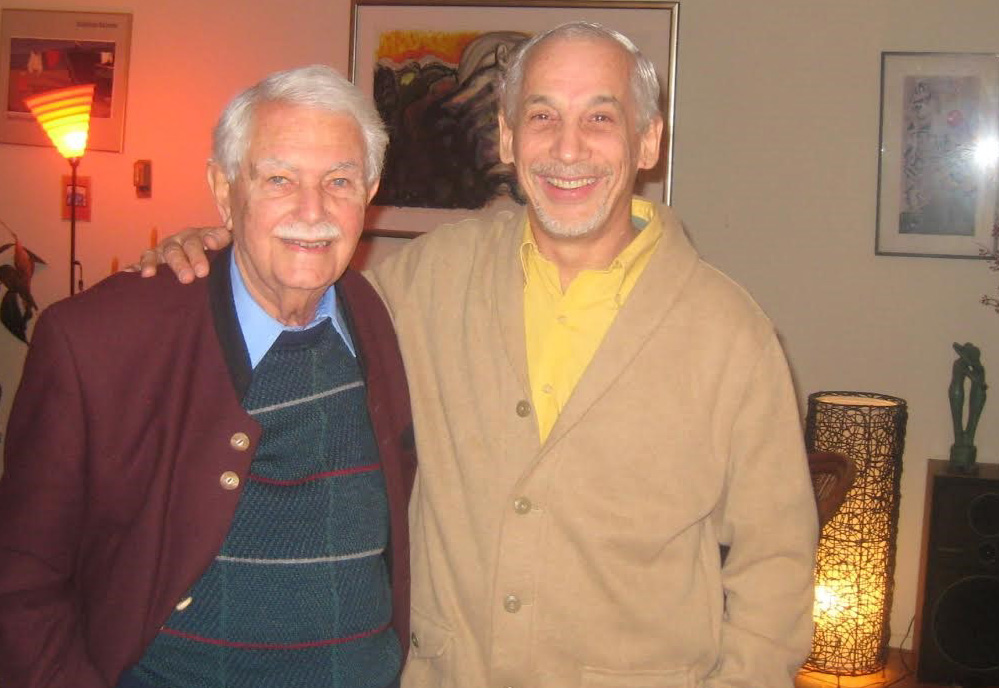 Egon Schwartz, left, and Paul Cantor. (Contributed)
