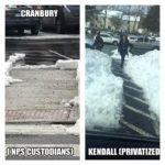 A picture posted Wednesday on Facebook by Norwalk Public Schools custodian Mark