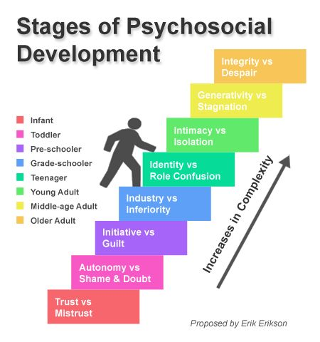 Erikson's Stages of Psychological Development clearly show that sixth graders have different needs from seventh and eighth graders, a Norwalk parent said Sunday.