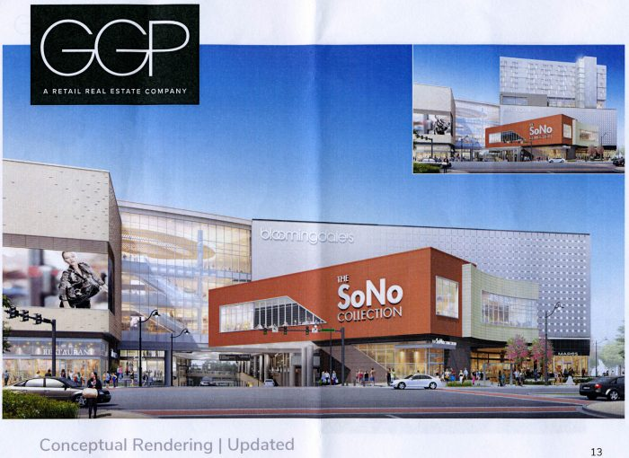 An Updated Rendering Of The Sono Collection With Old Showing A Hotel In Upper Right Hand Corner