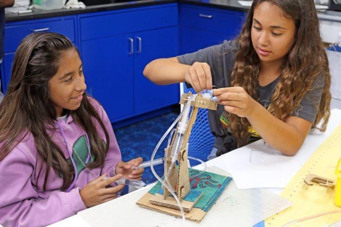 Norwalk Teens Enjoyed Free Stem Focused Camp At Maritime
