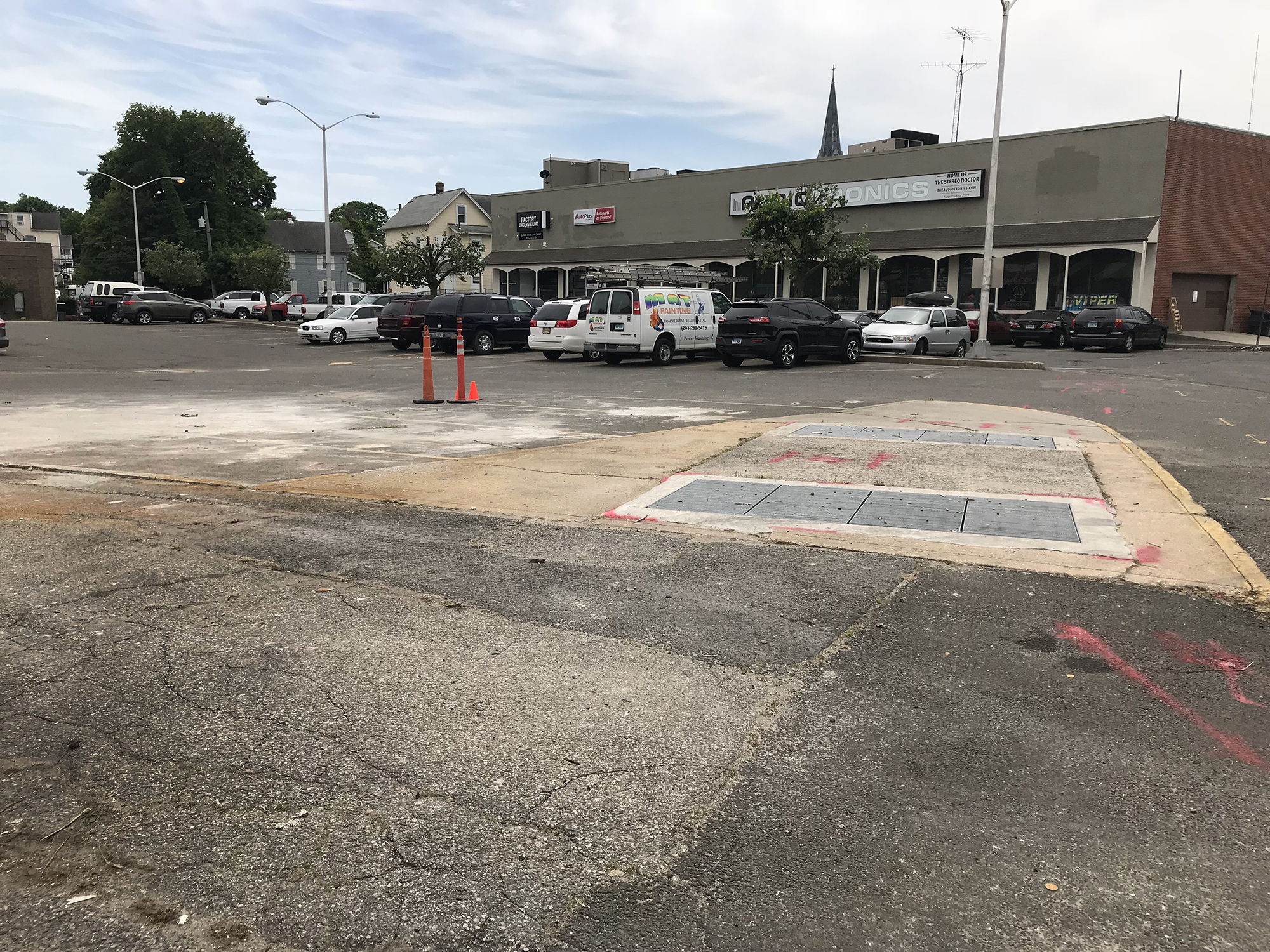 Norwalk Officials Locked In Acrimony With Wall Street Developer - Norwalk front street car show 2018