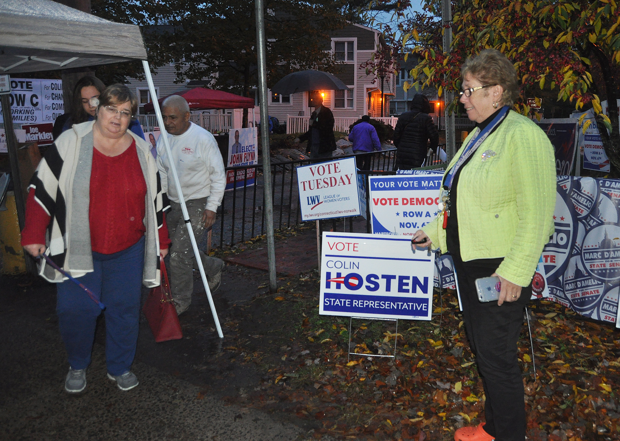 Photos from Election 2018 | Nancy on Norwalk